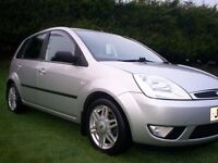 2005 FORD FIESTA 1.4 GHIA###EXCELLENT FIRST CAR###DRIVES AS NEW###POPULAR 5DR HATCHBACK###