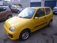 Fiat SEICENTO Sportium,3 door hatchback,1 owner from new,2 keys,super low mileage,only 7,000 miles