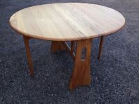 Ercol folding table