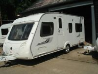 R&K CARAVANS 2008 SWIFT CHALLENGER 540 FIXED BED, 12 MONTHS WARRANTY