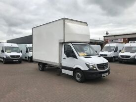 Now £12495 2014 Mercedes sprinter 313 extra high roof luton box or £268 per month j&ft&v mallusk