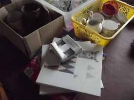 Mixed lot of items ideal for car boot or their maybe something you need