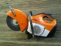 Stihl ts410 petrol cutting saw vgc