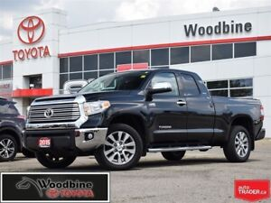 2015 Toyota Tundra Limited 5.7L V8 w/ 4WD, Navi, Leather, Tonnea
