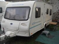 2004 Bailey Discovery 400, 5 berth caravan, with accessories