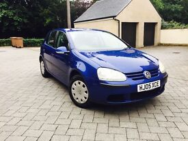 VOLKSWAGEN GOLF 1.4S 2005 WITH ONLY 62000 MILES AND MOT 1 YEAR MINT CONDITION