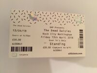 The Dead Daisies Ticket, Rock City Nottingham