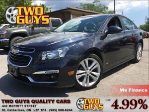 2015 Chevrolet Cruze 2LT LEATHER MOON ROOF BACK UP CAMERA