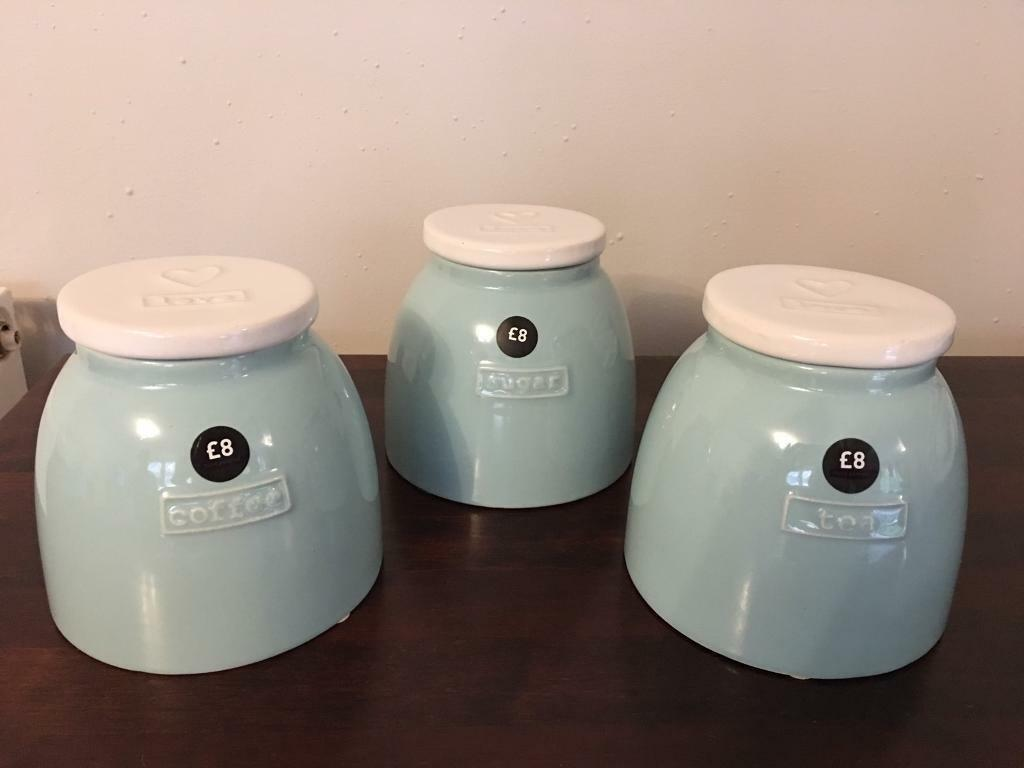 Next tea coffee sugar jars