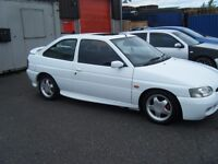 1996 FORD ESCORT RS 2000 16V FSH VERY CLEAN EXAMPLE MAY PX NO OFFERS