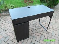 Office style desk suitable for PC or laptop with drawers and cupboard
