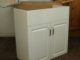 Orchard Florence white bathroom unit (brand new in box).