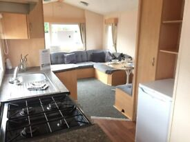 CHEAP 3 BEDROOM STATIC CARAVAN FOR SALE-SLEEPS 8-BEACH ACCESS-LOW FEES- 10% DEPOSITS-BEAUTIFUL VIEWS