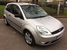 Ford Fiesta Zetec Climate. 2005. Silver. Low Mileage at 59200. Full Service History. Great condition