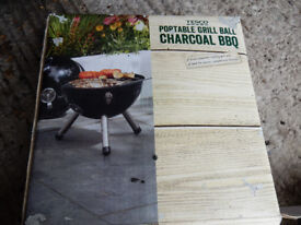 Tesco Portable Grill Ball Charcoal BBQ
