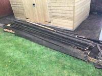 Scrap wood / fire wood / old decking