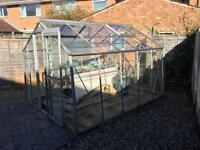 Greenhouse for sale (10ft x 8ft) including the work bench