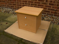 Bedside Cabinet / Table With Draws #FREE LOCAL DELIVERY#