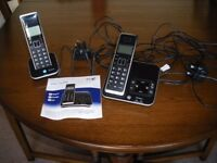 BT Xenon twin phone with answer machine