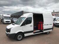 No vat 2012 Volkswagen crafter mwb tyre break down van only 53k £12995