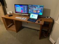 Large custom desk