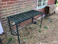 Metal Table/Bench for Garden