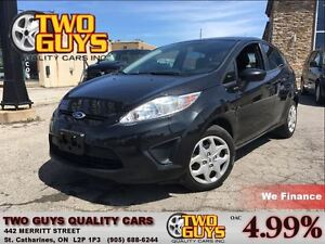 2013 Ford Fiesta SE LEATHER 5SPD SYNC