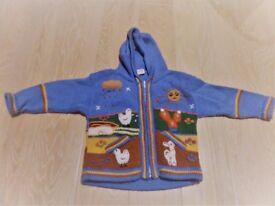 Boys 8 piece bundle 0-2 years, cardigans,jumpers,shirts,fleeces - Vertbaudet,Chateau de Sable
