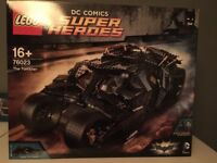 LEGO 76023THE TUMBLER DC COMICS RETIRED SET NEW AND SEALED