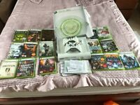 Xbox 360 boxed with lots of games excellent condition