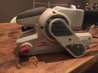 Belt sander and spare pads (spares or repair)