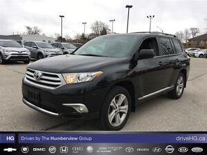 2012 Toyota Highlander V6 (A5) | LEATHER | HEATED SEATS | BACK U