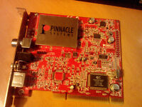 Pinnacle Systems TV Tuner PCI Card EMPTYV 510 Analogue Capture (no box or driver disk)