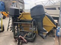 Twin 250hp Yamaha outboard engine's for sale