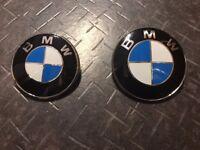 logo emblem sigle bmw bonnet/hood/rear/front