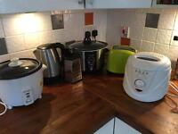 Kitchen appliances - slow cooker - rice cooker - fryer