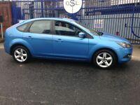 2009 09reg Ford Focus 1.6 tdci Zetec Blue 5 Door