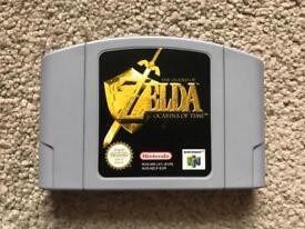 Zelda Ocarina of Time for N64