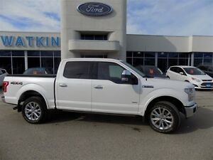 2016 Ford F-150 Super Crew Lariat 502A 4X4 EcoBoost