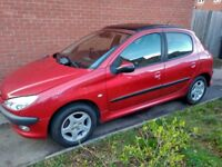 Peugeot 206 LX 1.1 Petrol 2003 | 112050 miles | Offers Welcome!!