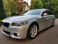 BMW 5 Series 2.0 520d M Sport Touring 5dr Full BMW Service History Long Mot Sat Navigation