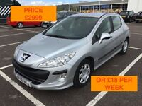 2010 PEUGEOT 308 S HDI 92 / NEW MOT / PX WELCOME / SERVICE HISTORY / FINANCE AVAILIBLE / WE DELIVER
