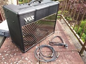 Vox Valvetronix AD50VT 50w amp - As New - Beautiful sounding amp, eleven amp models/effects built-in