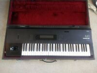 Korg M1 Synthesiser with Hard Case