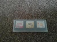 four games ds played with good condition no cases.
