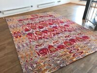 Beautiful Large Handmade Silk Rug From ABC Carpet & Home - New With Tags - RP £7,295