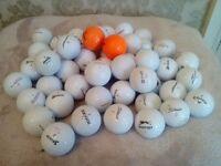 50 QUALITY USED GOLF BALLS