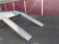 8 foot alloy ramps