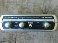 M audio guitar to pc interface