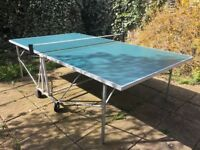 Full size table tennis table
